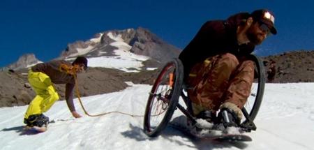 Tim Ostler Adaptative Signal Snowboard