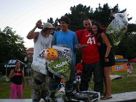 Ganadores del Luanco Jib Fest