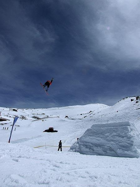 Jorge Belardi en la Surfin Pro de Sierra Nevada
