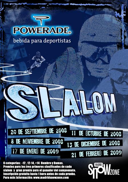 slalom, MadridSnowzone