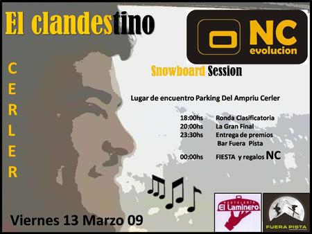 El Clandestino Session, Cerler