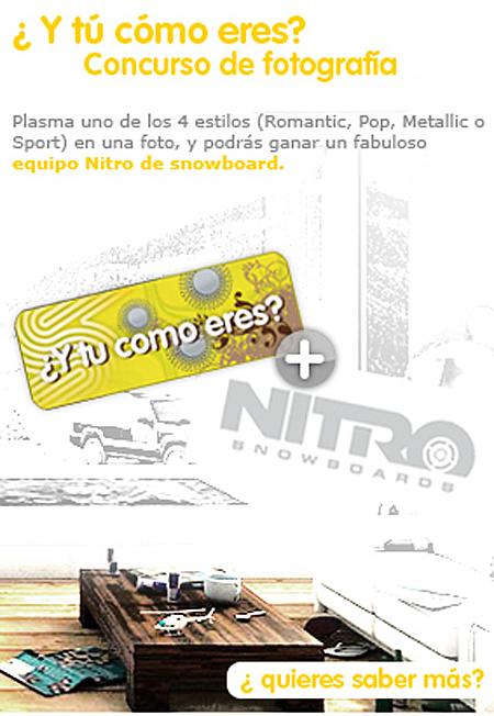 Nitro, concurso fotografía