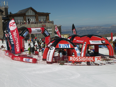 Demo Tour Rossignol, Vallnord