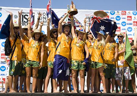 Australia, Campeona del Mundo Junior