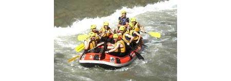 Rafting en la zona de Boí Taüll