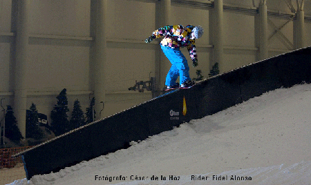Fidel Alonso, Madrid SnowZone