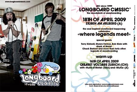 Longboard Classic Stuben flyer