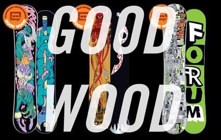 Forum Snowboards Good Wood 09