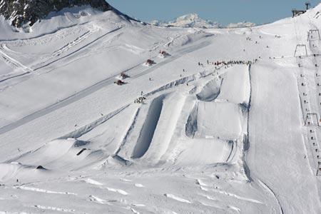Snowpark de Hintertux