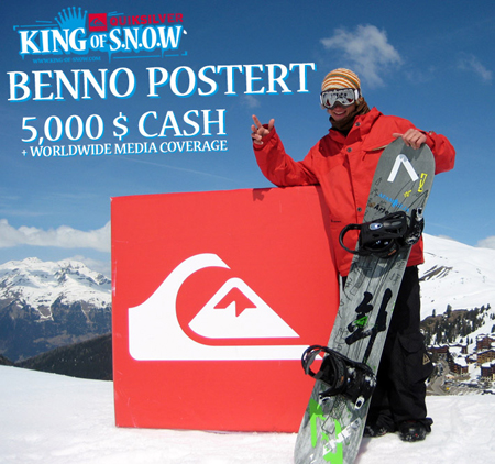 King of Snow, Benno Postert