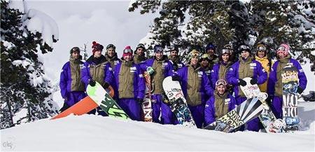 Landing Snowboards team 2009