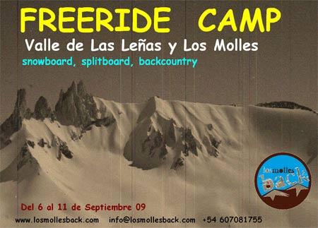 Los Molles Back freeride camp
