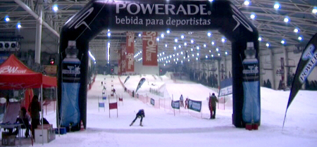 Madrid SnowZone, Slalom Powerade