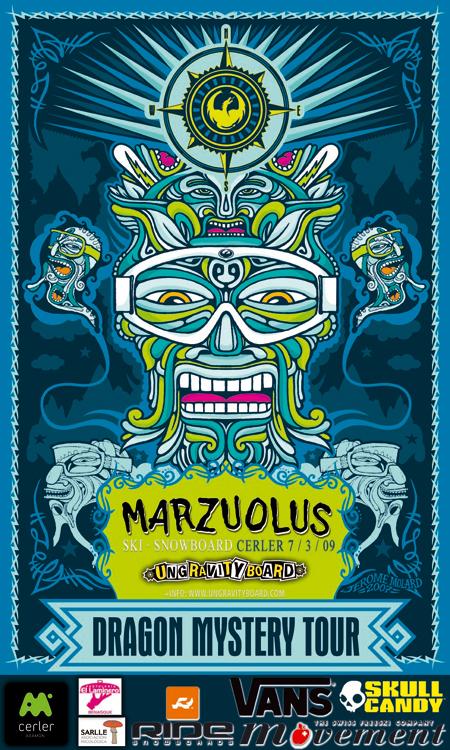 Dragon Mistery Tour, Cerler, Marzuolus