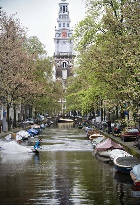 Wakeboarding en Amsterdam