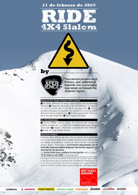 Ride 4x4 Slalom, Boí Taüll