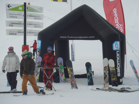 Salomon Snowboards Test Tour