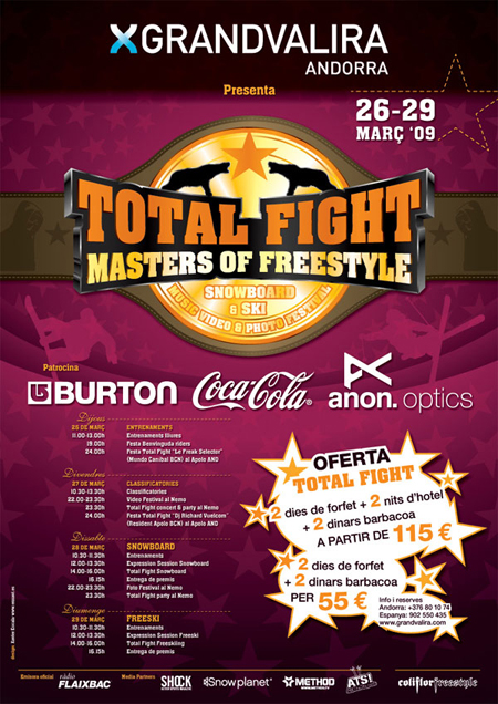 Total Fight 09, Grandvalira