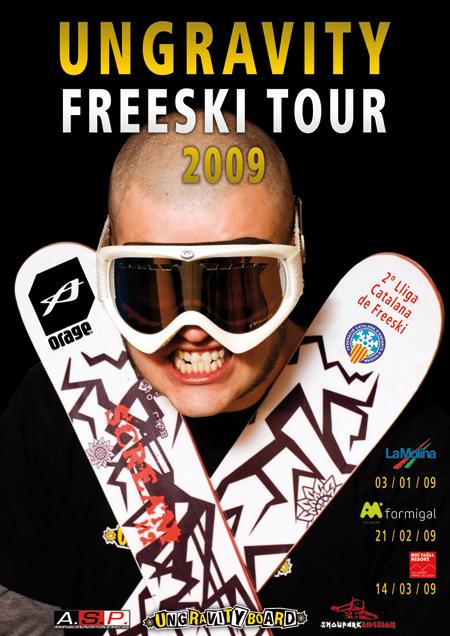 Ungravity Freeski Tour 09, Formigal, Orage